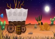 Игра Деревянный дом в пустыне на FlashRoom