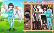 Girl and Horse на FlashRoom