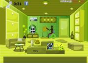 Fabulous Green Room Escape на FlashRoom